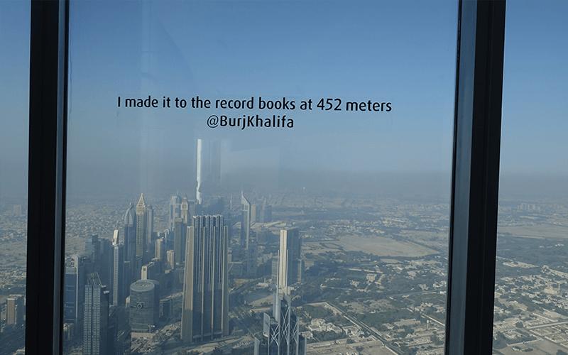 Burj Khalifa Top