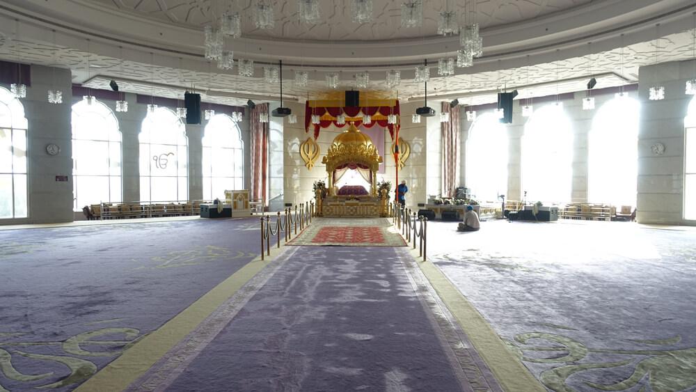 Inside Dubai Gurdwara